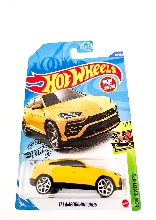 Hot Wheels '17 Lamborghini URUS HW Exotics 1_10 -213_250, Yellow Indus Bazaar
