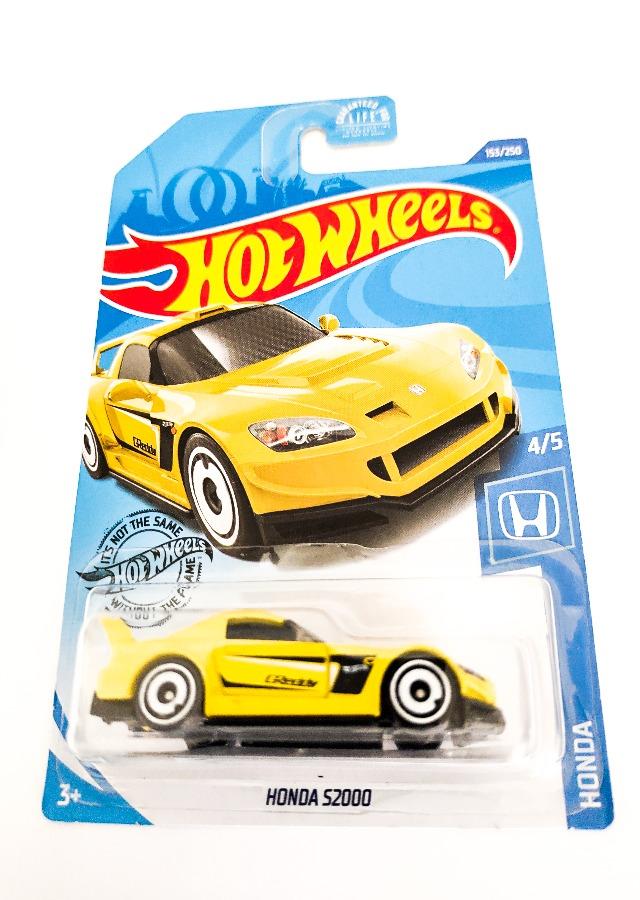 Hot Wheels Honda S2000 Yellow Indus-Bazaar IndusBazaar