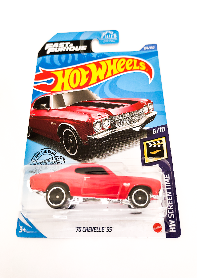Hot Wheels '70 Chevelle SS HW Screen Time 6/10- 236/250