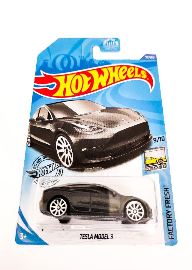 Hot Wheels Tesla Model 3 Factory Fresh IndusBazaar Indus-Bazaar