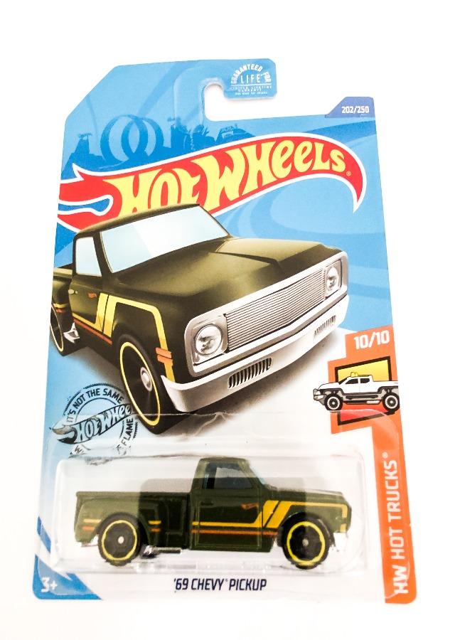 Hot Wheels '69 Chevy Pickup HW Hot Trucks 10/10 - 202/250 Indus-Bazaar IndusBazaar